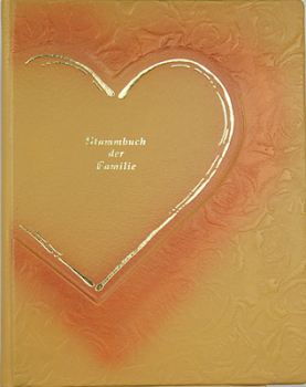 Stammbuch A4 Amore